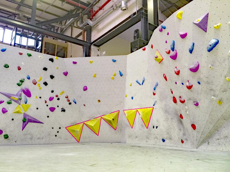 Boulderhal Stuntwerk Koln Cologne Germany Duitsland Dyno Dynamic Dynamisch