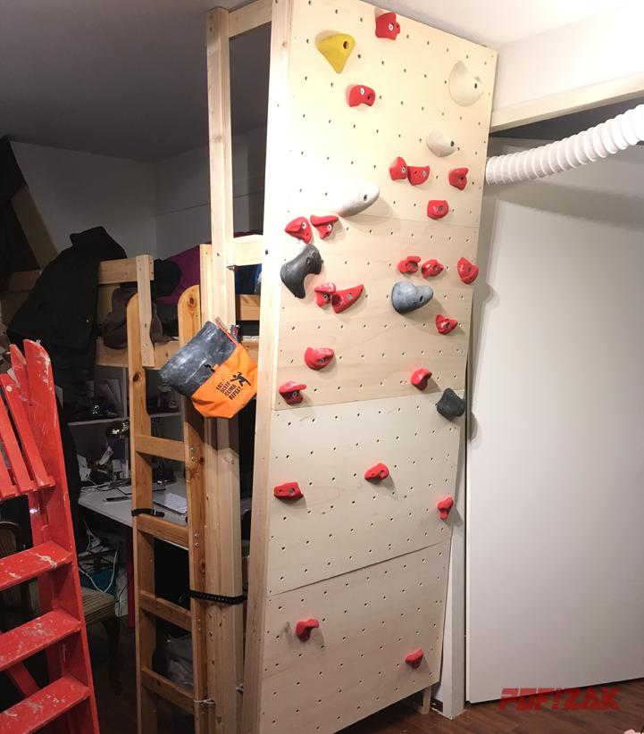 training boulder wandje af!