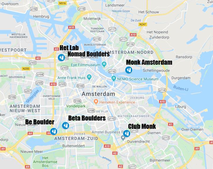 boulderhallen amsterdam nieuw