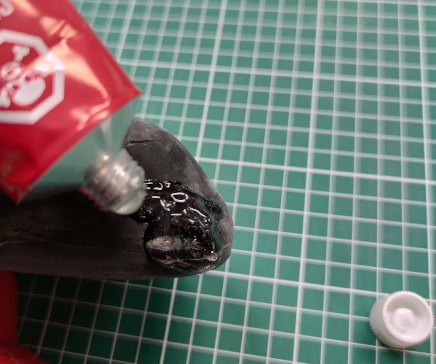 shoe goo reparatie klimschoen