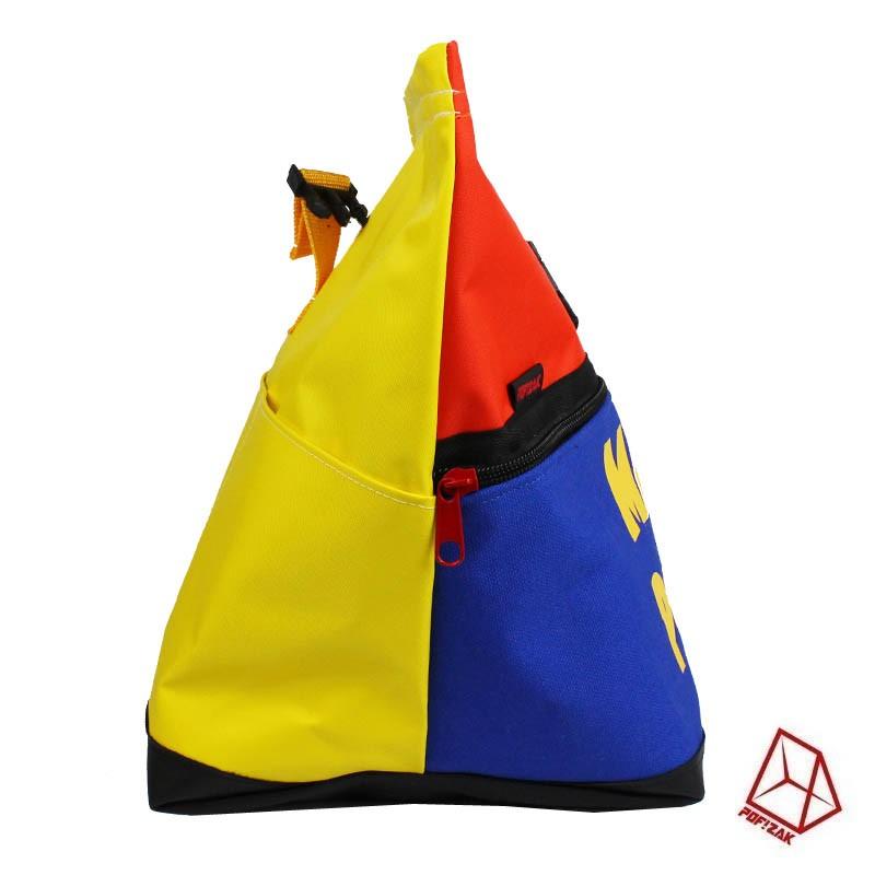 boulder pofzak chalk bag magic powder geel oranje