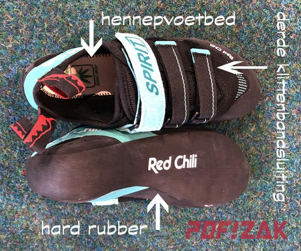 red chili spirit lv klimschoenen